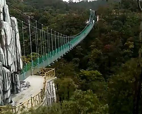天柱山吊桥案例