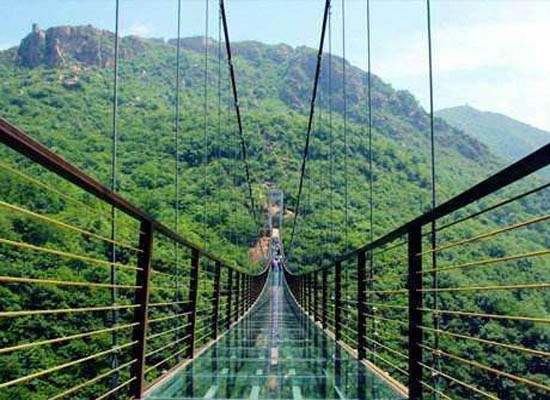 暑期旅游景点,游乐玻璃吊桥项目热度直线上升!