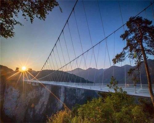 景区施工一座玻璃吊桥安装需要多少钱?