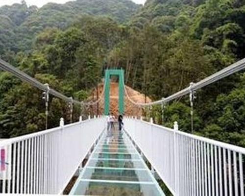 吊桥安装厂家揭秘圈粉无数的网红桥结构