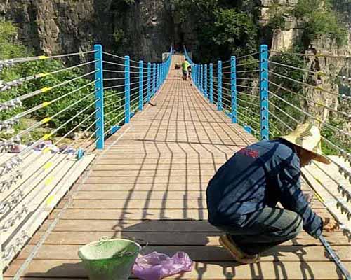 山东景区吊桥