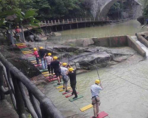 景区水上趣桥