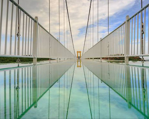 玻璃吊桥价格
