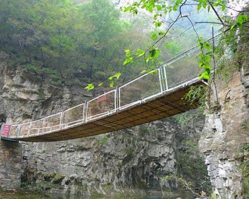 河南铁索桥