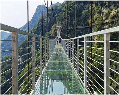 玻璃吊桥厂家施工