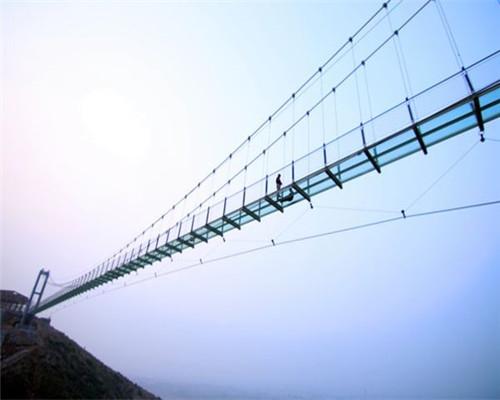 玻璃桥施工