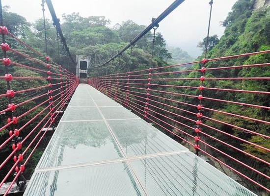 山东景区吊桥安装