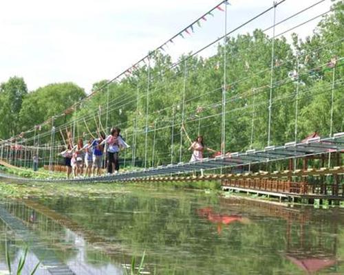 步步惊心吊桥