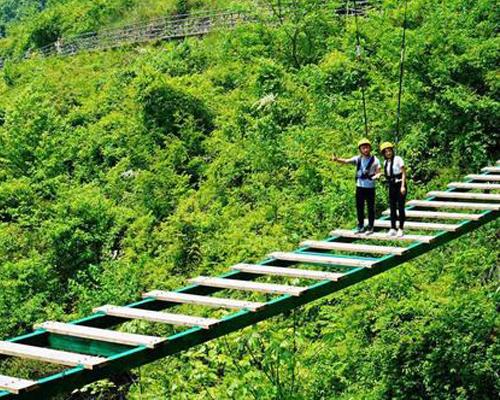 步步惊心吊桥安装
