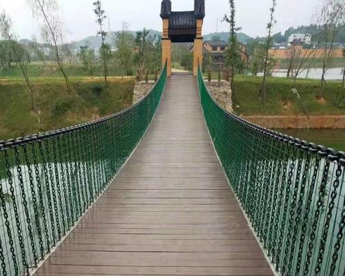 新乡木吊桥