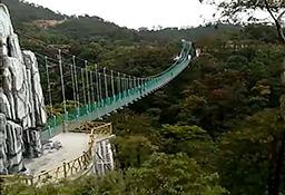 天柱山吊桥